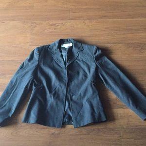 😊suit  jacket size 6 lined Larry Levine